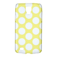Yellow Polkadot Samsung Galaxy S4 Active (I9295) Hardshell Case