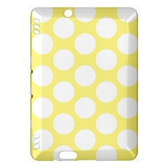 Yellow Polkadot Kindle Fire HDX 7  Hardshell Case