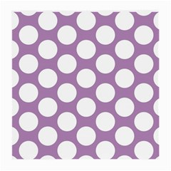 Lilac Polkadot Glasses Cloth (Medium)