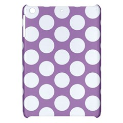 Lilac Polkadot Apple iPad Mini Hardshell Case