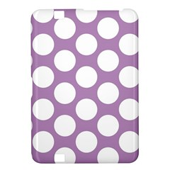 Lilac Polkadot Kindle Fire HD 8.9  Hardshell Case