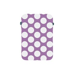 Lilac Polkadot Apple iPad Mini Protective Sleeve