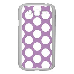 Lilac Polkadot Samsung Galaxy Grand DUOS I9082 Case (White)