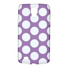 Lilac Polkadot Samsung Galaxy S4 Active (I9295) Hardshell Case