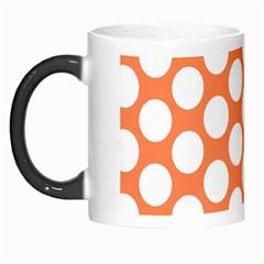 Orange Polkadot Morph Mug