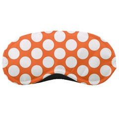 Orange Polkadot Sleeping Mask