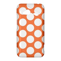 Orange Polkadot HTC Droid Incredible 4G LTE Hardshell Case