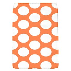 Orange Polkadot Removable Flap Cover (Small)