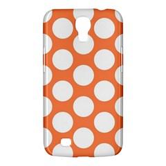 Orange Polkadot Samsung Galaxy Mega 6 3  I9200 Hardshell Case