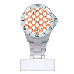 Orange Polkadot Nurses Watch