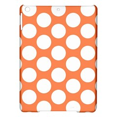 Orange Polkadot Apple iPad Air Hardshell Case