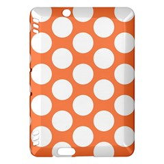 Orange Polkadot Kindle Fire Hdx 7  Hardshell Case