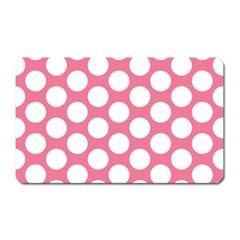 Pink Polkadot Magnet (Rectangular)