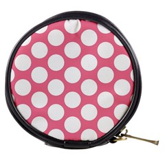 Pink Polkadot Mini Makeup Case