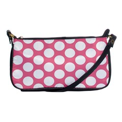 Pink Polkadot Evening Bag