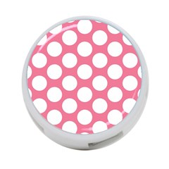 Pink Polkadot 4 Port Usb Hub (two Sides)