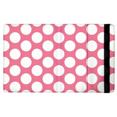Pink Polkadot Apple iPad 3/4 Flip Case