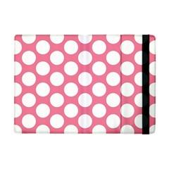 Pink Polkadot Apple iPad Mini Flip Case