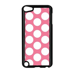 Pink Polkadot Apple iPod Touch 5 Case (Black)