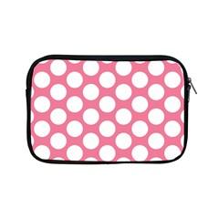 Pink Polkadot Apple iPad Mini Zippered Sleeve