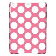 Pink Polkadot Apple Ipad Air Hardshell Case