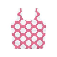 Pink Polkadot Reusable Bag (s)