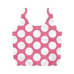 Pink Polkadot Reusable Bag (M)