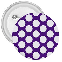 Purple Polkadot 3  Button