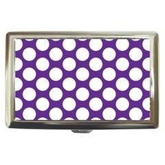 Purple Polkadot Cigarette Money Case