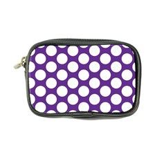 Purple Polkadot Coin Purse