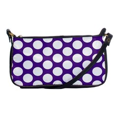 Purple Polkadot Evening Bag