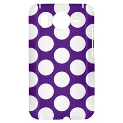 Purple Polkadot HTC Desire HD Hardshell Case