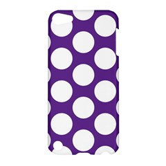 Purple Polkadot Apple Ipod Touch 5 Hardshell Case