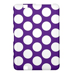 Purple Polkadot Kindle Fire HD 8.9  Hardshell Case