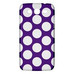 Purple Polkadot Samsung Galaxy Mega 5 8 I9152 Hardshell Case
