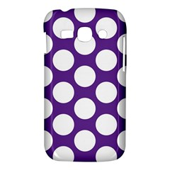 Purple Polkadot Samsung Galaxy Ace 3 S7272 Hardshell Case