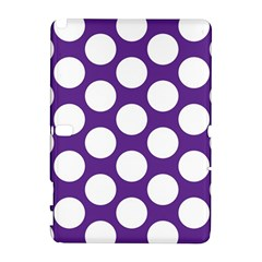 Purple Polkadot Samsung Galaxy Note 10.1 (P600) Hardshell Case