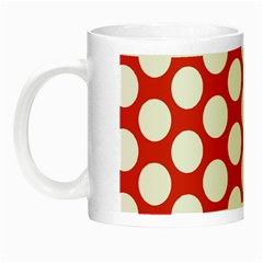 Red Polkadot Glow In The Dark Mug