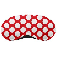 Red Polkadot Sleeping Mask