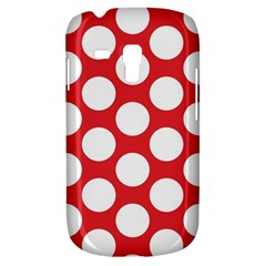 Red Polkadot Samsung Galaxy S3 MINI I8190 Hardshell Case