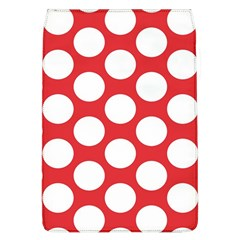 Red Polkadot Removable Flap Cover (Large)