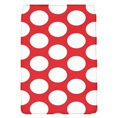 Red Polkadot Removable Flap Cover (small)