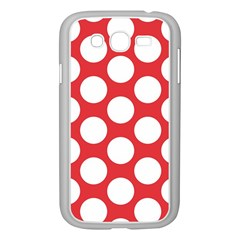Red Polkadot Samsung Galaxy Grand DUOS I9082 Case (White)