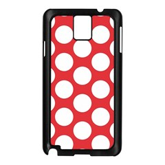 Red Polkadot Samsung Galaxy Note 3 N9005 Case (Black)