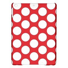 Red Polkadot Apple iPad Air Hardshell Case