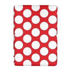Red Polkadot Samsung Galaxy Note 10 1 (p600) Hardshell Case