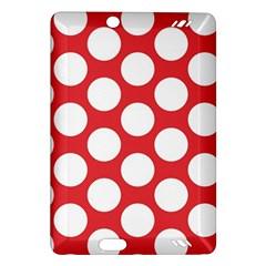Red Polkadot Kindle Fire Hd 7  (2nd Gen) Hardshell Case