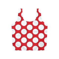 Red Polkadot Reusable Bag (s)
