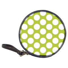 Spring Green Polkadot Cd Wallet