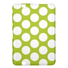Spring Green Polkadot Kindle Fire Hd 8 9  Hardshell Case